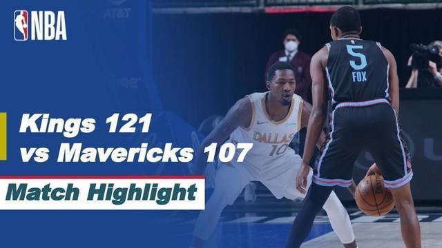 Berita Video Highlights NBA, Sacramento Kings Permalukan Tuan Rumah Dallas Mavericks 121-101 (19/4/2021)
