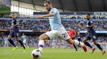 Manchester City Ditahan Imbang Tottenham di Etihad