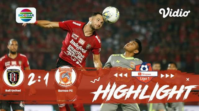 Laga Lanjutan #Shopeeliga1, #BaliUnited vs #BorneoFC di Stadium Kapten I Wayan Dipta, Kabupaten Gianyar pada Rabu malam ini (28/8/...