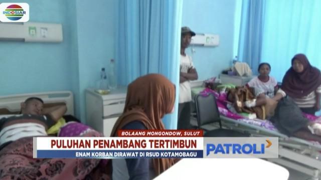 Korban longsoran tambang emas di Bolaang Mongondow, Sulawesi Utara, bertambah jadi 25 orang.