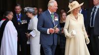 Pangeran Charles dan Camilla. (Francisco Seco/AP)