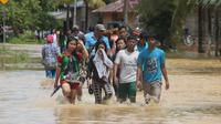 Banjir di Jambi (Bangun Santoso/Liputan6.com)