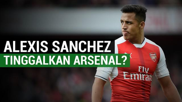 Arturo Vidal membujuk Alexis Sanchez tinggalkan Arsenal, mengapa?