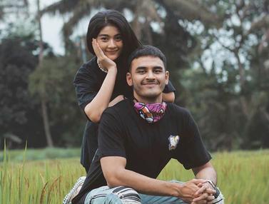 FOTO: Gaya Liburan Artis FTV Debi Sagita dan Kekasih di Pematang Sawah Ini Curi Perhatian
