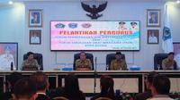 Dalam pelantikan tersebut, Wali Kota Wali Kota Bitung Maximiliaan Lomban memaparkan 5 hal penting untuk pengurus FKUB dan FKDM.