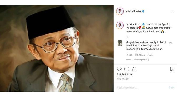 Atta Halilintar (Sumber: Instagram/attahalilintar)