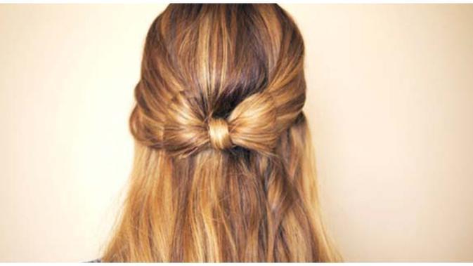 Diy Gaya Rambut Membuat Pita Dari Rambut Sendiri Beauty Fimela Com