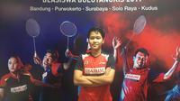 Atlet putri PB Djarum Nurul Tetra Junia Matondang. (Liputan6.com/Harley Ikhsan)