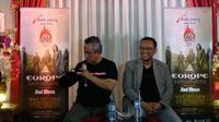 Bupati Boyolali Seno Samodro bersama dengan Anas Syahrul Alimi dari Jogjarockarta