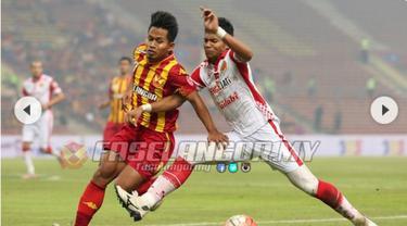 Andik Vermansah (kiri) saat bela Selangor FA (Liputan6)