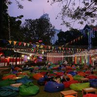 Pusat Kuliner Senayan, Jakarta Pusat. (Daniel Kampua/Bintang.com)