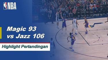 Donovan Mitchell mencetak 33poin dan Rudy Gobert menggapai 14 rebound sebagai Jazz mengalahkan Magic