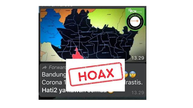 Cek Fakta Hoaks Kota Bandung Jadi Zona Hitam Covid 19 Cek Fakta Liputan6 Com