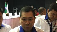 Hary Tanoesoedibjo kembali terpilih menjadi Ketua Federasi Futsal Indonesia (FFI) melalui kongres pemilihan yang digelar di Jakarta. (Bola.com/Benediktus Gerendo Pradigdo)