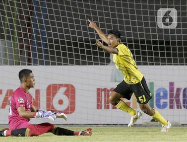 FOTO: Arema FC Tumbang Lawan Barito Putera di Piala Menpora 2021