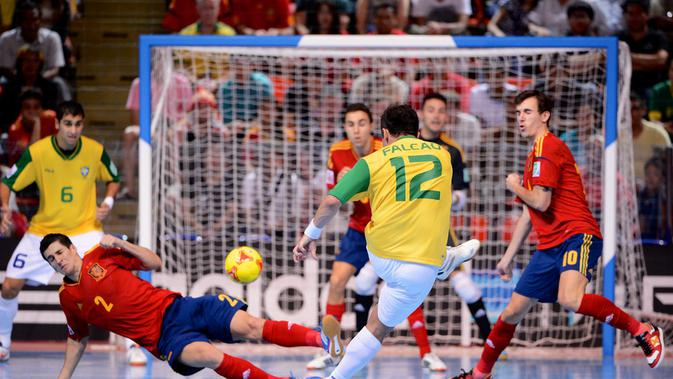 Ilustrasi Lapangan Futsal/Shutterstock.