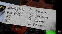 Pasar Muamalah di Kota Depok terima pembayaran dengan uang Rupiah, Dirham, hingga sistem barter. (Liputan6.com/Dicky Agung Prihanto)