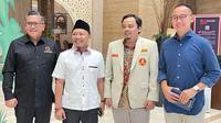 Hasto dan Eddy menyampaikan hal itu ketika menjadi pembicara dalam Rapat Koordinasi Nasional Pemuda Muhammadiyah, berterma 'Konfigurasi Politik Pemuda Muhammadiyah Menyambut Pesta Demokrasi 2024'.  (Merdeka.com)