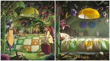 Desainer Ini Ubah Interior Studio Ghibli Jadi Nyata, 5 Hasilnya Mengagumkan