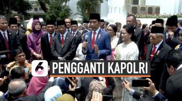 Kabareskrim Polri Komjen Polisi Idham Aziz ditunjuk presiden Jokowi menggantikan Kapolri Jenderal Polisi Tito Karnavian. Nama Idham Aziz telah diajukan presifden ke DPR RI.