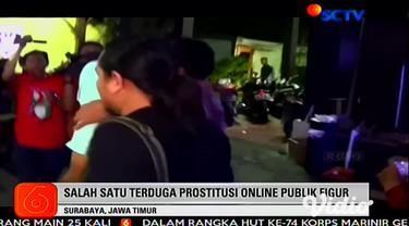 Polda Jatim kembali membongkar prostitusi online yang diduga melibatkan seorang publik figur. Dari penggerebekan yang dilakukan di Batu, Malang, Jawa Timur ini, polisi mengamankan tiga orang yang diduga terlibat tindak pidana prostitusi.