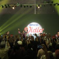 Nidji di BRIZZI Vidio Fair 2017 (Daniel Kampua/Bintang.com)