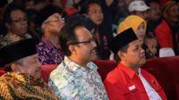 Wakil Gubernur Jawa Timur Saifullah Yusuf atau Gus Ipul saat menghadiri peringatan HUT ke-44 PDIP di Madiun. (Liputan6.com/Rochmanuddin)