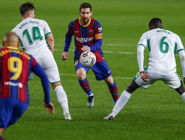Liga Spanyol Barcelona vs Elche