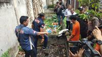 Barang bukti yang dibakar JP dan RF adalah helm, jaket, baju, sepatu, dan masker. Barang bukti dibakar setelah keduanya mengeksekusi dan membuang jasad Jamaluddin di jurang areal kebun sawit milik warga, di Dusun II Namo Bintang, Desa Suka Dame, Kecamatan Kutalimbaru, Deliserdang.