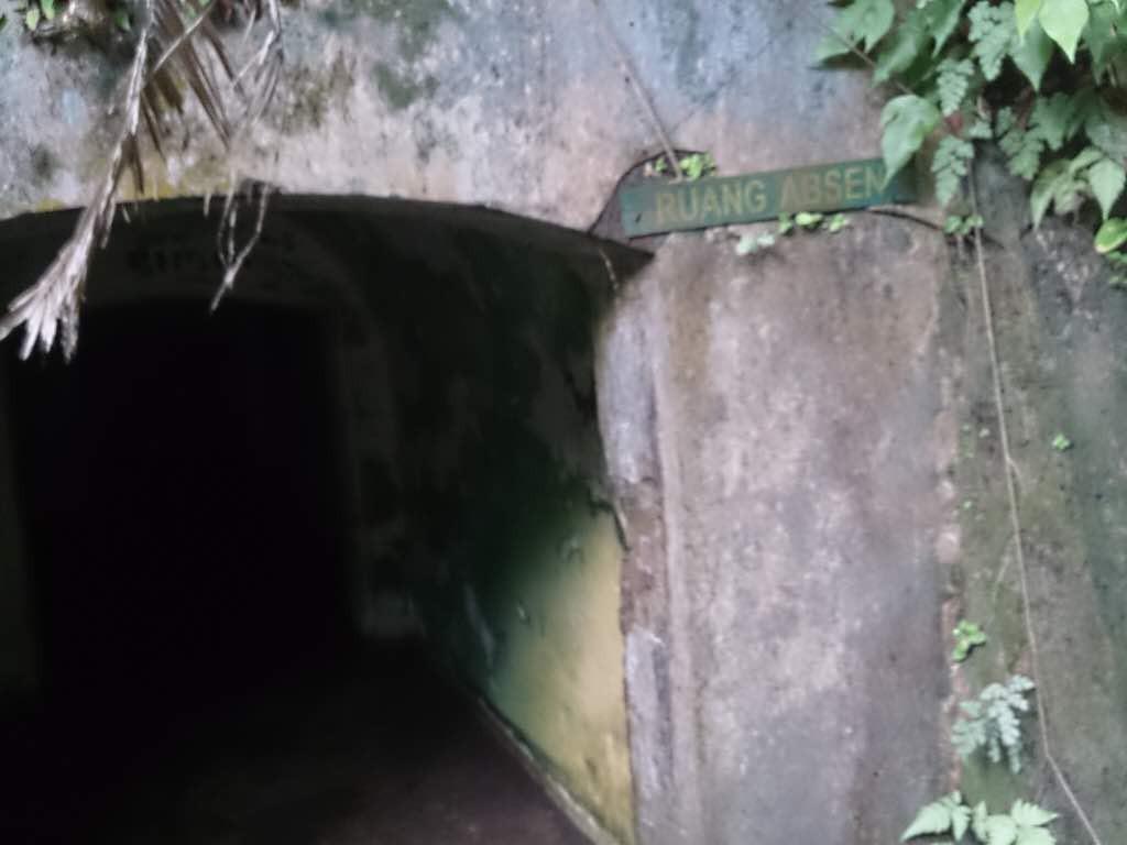 Banyak lorong menyeramkan di Benteng Portugis Pulau Nusakambangan. (Liputan6.com/Oscar Ferri).