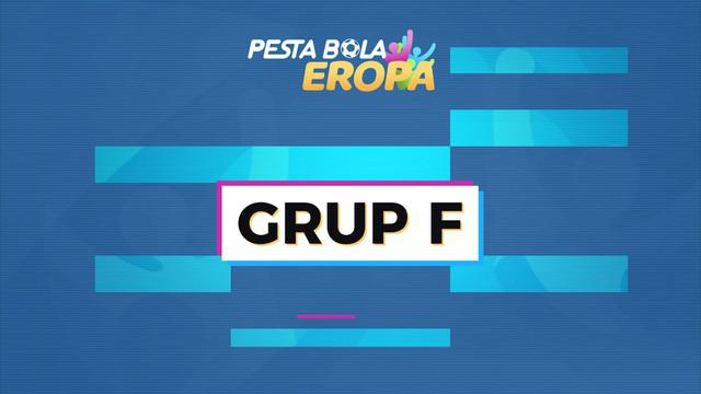 Berita motion grafis profil Grup F Euro 2020 (Euro 2021).