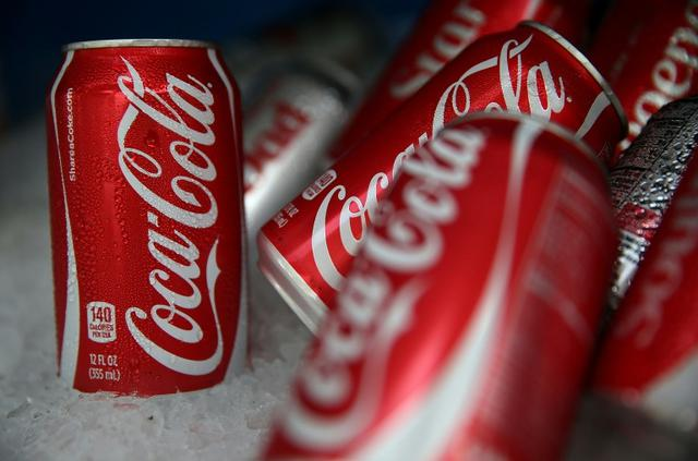 Ilustrasi coca-cola (AFP/Justin Sullivan)