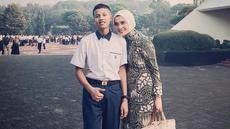 Momen kebersamaan Bagas bersama sang ibu tercinta. Saat ini, Bagas sedang menjalani sekolah militer di SMA Taruna Nusantara, Magelang, Jawa Tengah. (Liputan6.com/IG/@arzetibi)