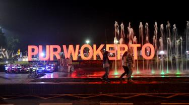 Alun-alun Kota Purwokerto. (Foto: Liputan6.com/Muhamad Ridlo)