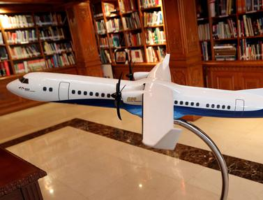 Dua Perusahaan Italia Siap Gabung Bangun Pesawat R80