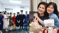 6 Potret Keakraban Felicia Tissue dengan Ibunda, Mantan Kaesang Pangarep (sumber: Instagram/meilia_lau)