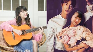 Beri Lagu untuk Jin BTS, Ini 6 Potret Ghea Indrawari yang Curi Perhatian