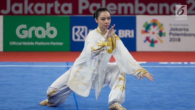 005164200 1534662300 20180819 Pesona Pewushu Cantik Lindswell Kwok di Asian Games 2018 BOLA 5 - Asian Games Wushu 2018