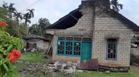 Gempa Solok Selatan mengakibatkan ratusan rumah rusak dan puluhan orang terluka. (Dokumentasi BNPB)