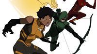 Vixen, serial animasi.pendek DC yang resmi bergabung dengan Arrow dan The Flash. (CW Seeds/DC)