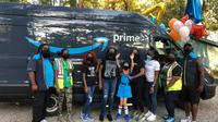 Amazon Beri Kejutan Spesial untuk Anak Cerebral Palsy. Foto: facebook @Amy Palmer Carpenter