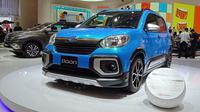 Daihatsu Boon dibangun dari platform Toyota Passo. (Arief/Liputan6.com)