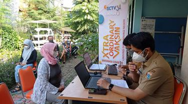 SCTV Turut Sukseskan Vaksinasi Covid-19 Gratismelalui Xtraordinary Vaksin
