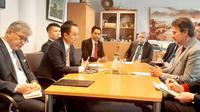 Wamendag Jerry Sambuaga dengan Managing Director for Asia Pacific EEAS