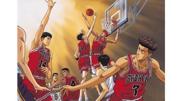 Siapa diantara kalian yang masih ingat dengan Slam Dunk?
