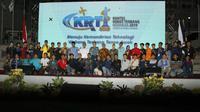 Kontes Robot Terbang Indonesia 2019 (Foto: Liputan6.com/Dian Kurniawan)
