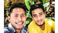 5 Momen Persahabatan Andik Vermansah dan Taufiq, Selalu Kompak (sumber: Instagram.com/taufiq08_)