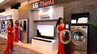Kecerdasan buatan dan internet of things (IoT) kini hadir dalam produk-produk terbaru LG (Foto: LG Indonesia)