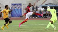 Persipura Jayapura ketika itu berhasil menembus semifinal setelah mendepak Al-Kuwait dengan agregat 8-4 di Piala AFC 2014. (AFP/Yasser Al-Zayyat)