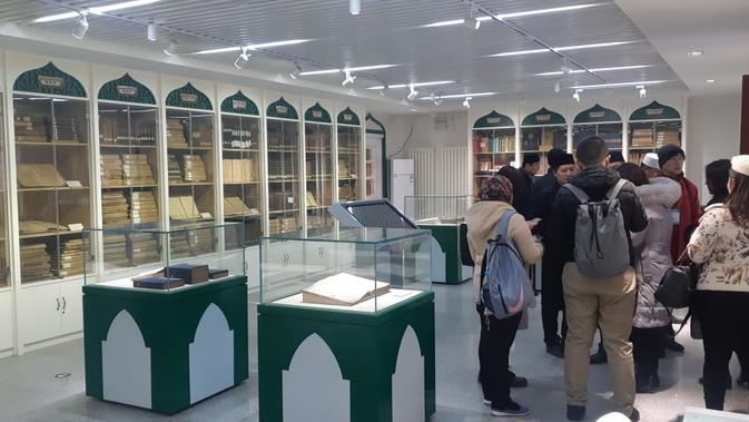 Perpustakaan Masjid Dongsi di Beijing (Rizki Akbar Hasan / Liputan6.com)